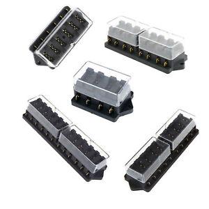 Car Boat 4/6/8/10/12 Way Pin Circuit Standard Fuse Box Block Holder Plug  Blade   eBayeBay