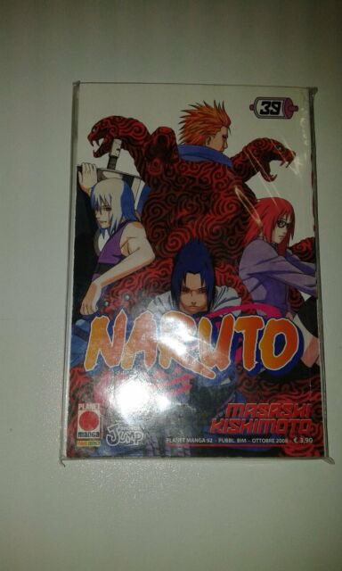 Naruto 39 Serie Nera Planet Manga Prima Edizione Manga Anime