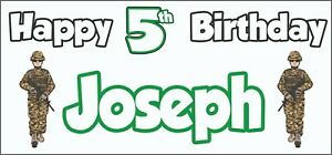 Boxing Glove 46th Birthday Banner x2 Party Decorations Personalised ANY NAME