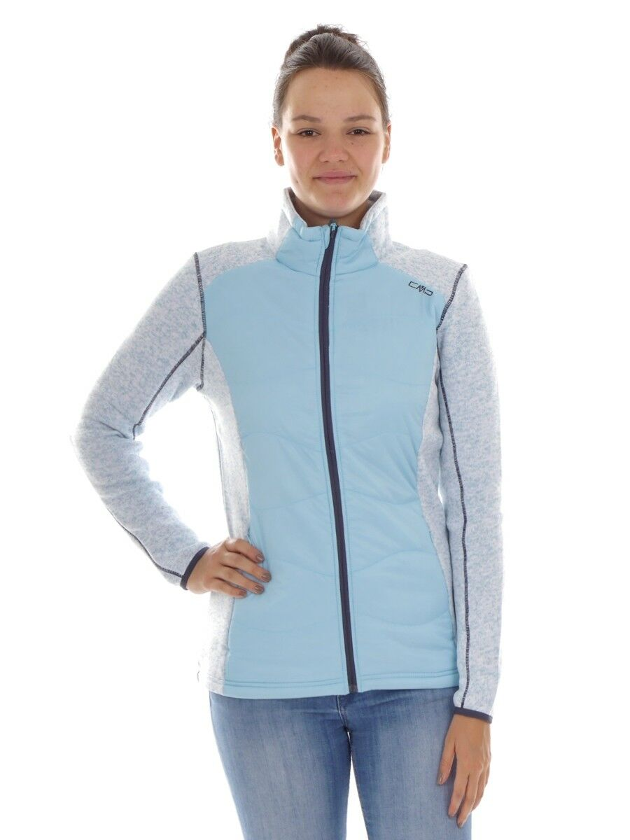 CMP Chaqueta Polar Funcional Chaqueta de Punto blue blue blue Knittech Isolierend 2da788