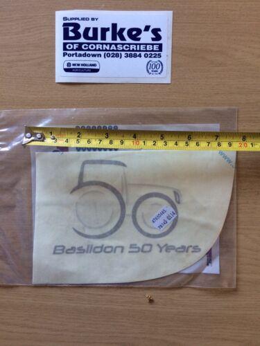 Genuine New Holland Decal Basildon 50 Years NARROW MUDGUARD 47650465