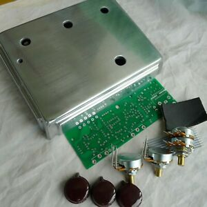 DIY Overdrive Effects Pedal Project Box Case With PCB/Pots ...