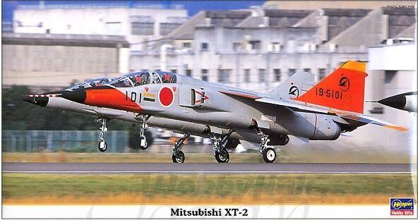 09880 Hasegawa Mitsubishi XT-2 aereo modellino plastica KIT 1:48 NUOVO in
