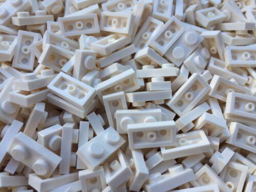 LEGO 3023-NUOVO BIANCO 1x2 Piatti//50 pezzi per ordine
