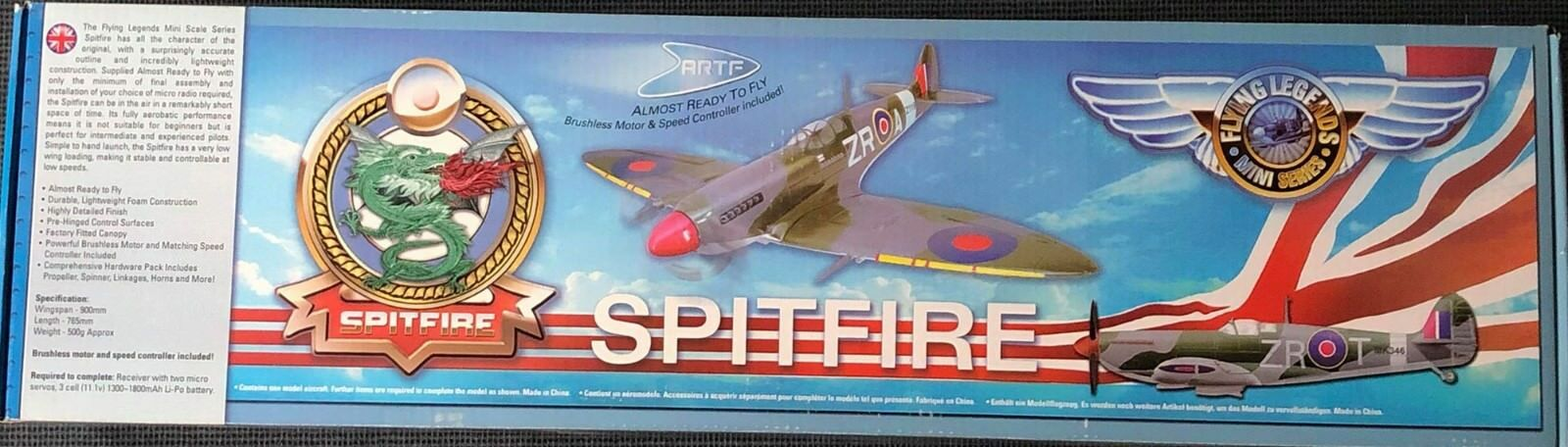 Spitfire almost ready to fly Brushless Motore Regolatore
