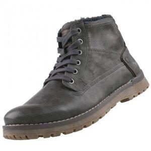 NUEVO-MUSTANG-Zapatos-Hombre-Botas-De-Hombres-Forrado-Botas-de-invierno-botas