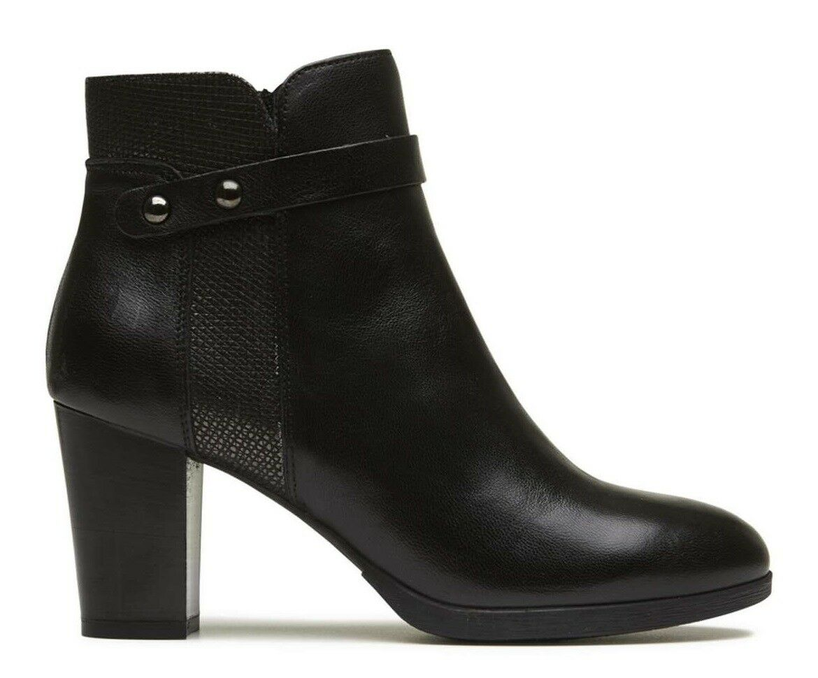 IGI & CO 2196500 BLACK women's shoes shoes shoes ankle boot booties boots black leather 69f781