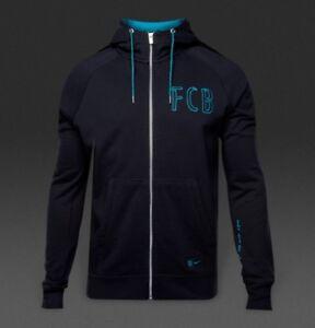 2d8009c5a Nike FC Barcelona 16/17 NSW Authentic Full Zip Men's Hoodie - 810291 ...