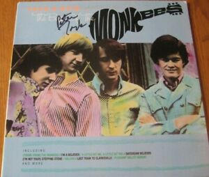 MONKEES-THEN-amp-NOW-BEST-OF-VINYL-LP-SIGNED-BY-PETER-TORK-ARISTA