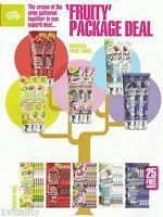 Fiesta Sun Fruity Sensations Package Deal Sunbed Lotion Creams Bottle & Sachets
