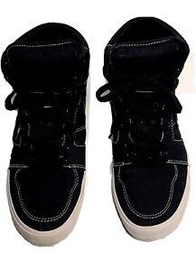 Airwalk-Black-High-Top-canvas-Skate-Shoes-Sneakers-Men-039-s-9-5-Thinsulate