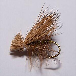 GODDARD SEDGE Dry Fly Fishing flies Caddis deer hair by Dragonflies