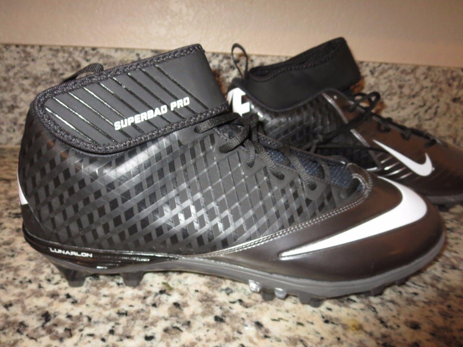 Nike football lunarlon superbad pro calcio scarpe Uomo noi 16 uk15