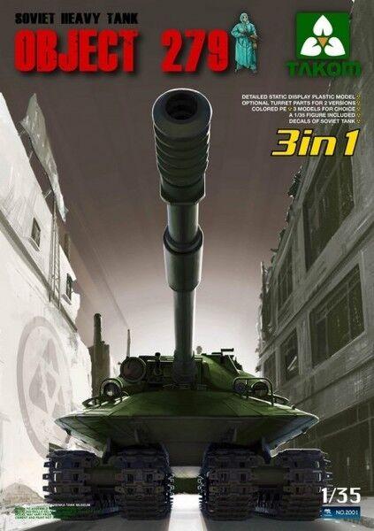 Takom 2001 - Sovjet Heavy Tank Object 279  | Elegant Und Würdevoll