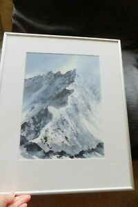 Striding-Edge-Helvellyn-Original-Watercolour-Acrylic-Painting-by-Marilyn-Tordoff
