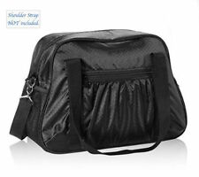 Thirty one ALL IN TOTE travel shoulder gym sports utility bag 31 gift Black