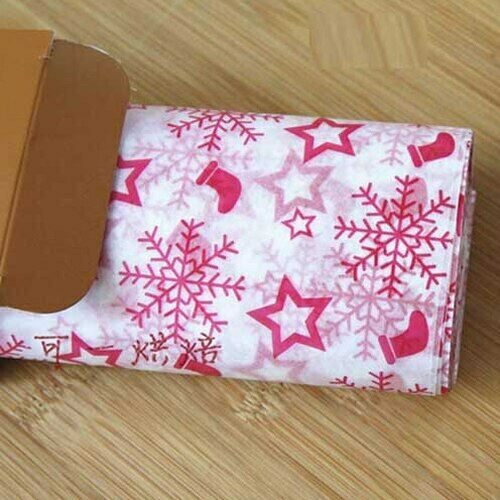 50Pcs//Lot Wax Paper Food Grade Grease Paper Food Wrappers Wrapping Paper For