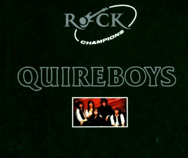 THE QUIREBOYS - Rock Champions - CD / Digi-Pack - Neu / OVP