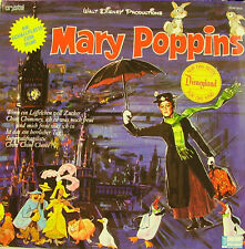 OST WALT DISNEY PRODUCTIONS (MARY POPPINS) LP VINYL 1973 (GERMANY)