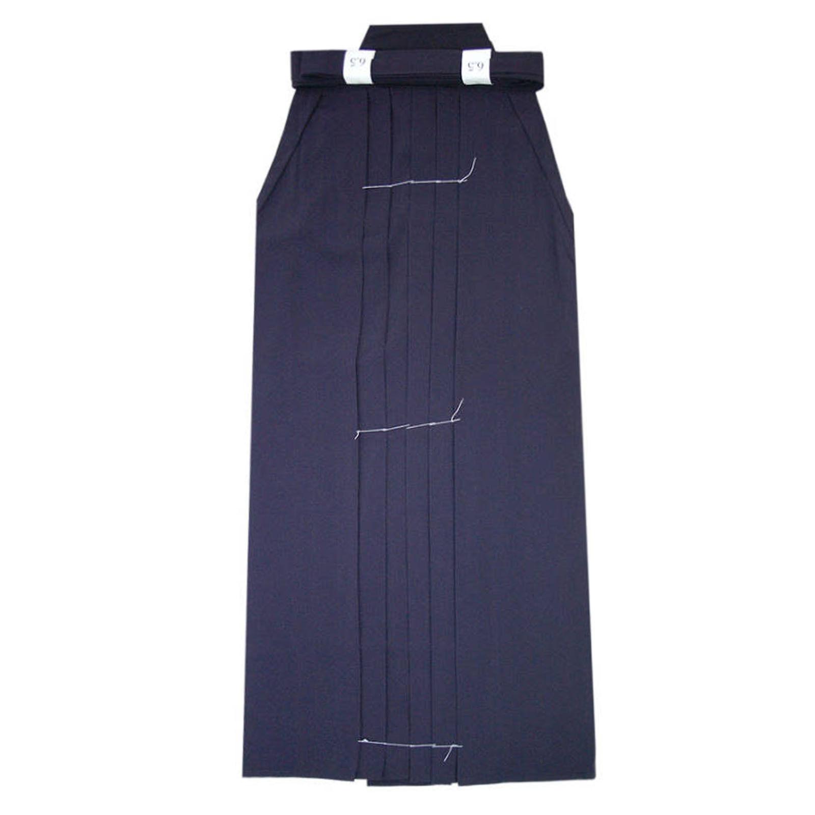 Kendo Hakama Iaido Kumdo Training Light Weight Permanent Pleat Dark bluee Uniform