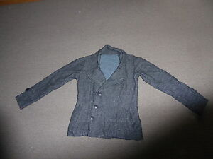 Vintage-Retro-Warm-Woollen-Material-with-lining-Double-Breasted-Look-Jacket-S
