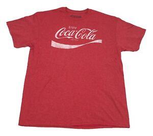 Coke-Enjoy-Refreshing-Coca-Cola-Logo-Vintage-Retro-Classic-Drink-Men-039-s-T-Shirt