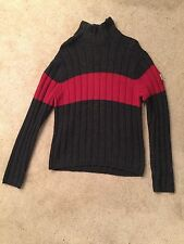 Abercrombie & Fitch Gray Wool Blend Turtle Neck Sweater Men's Size Large