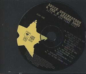 Bruce Springsteen & The E Street Band Live In New York City  (disc 1) Cd Only