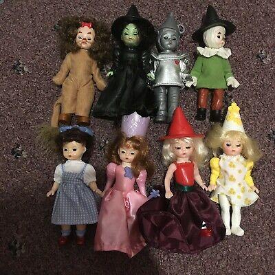 Excellent 2007 Complete Set Wizard of Oz 8 Dolls Madame Alexander McDonald/'s