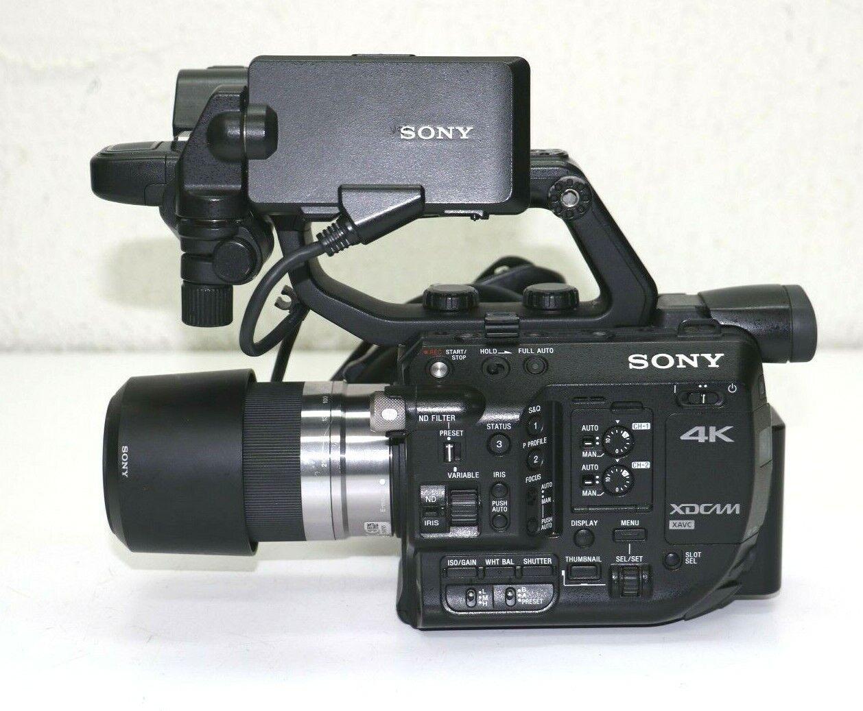 s l1600 - Sony PXW-FS5 XDCAM 4K Ultra HD Super 35 Camcorder E 4.5-6.3/55-210 OSS  Lens