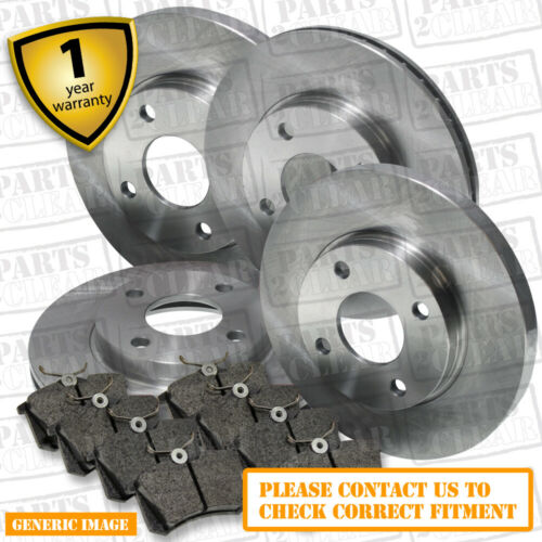 Jeep Commander 4.7 Front And Rear Brake Pads Discs 328mm 320mm 305 05