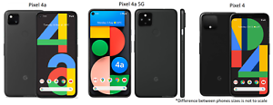 Google Pixel 4 / 4a OR 4a 5G (64GB-128GB) |  AT&T Verizon OR Unlocked Smartphone
