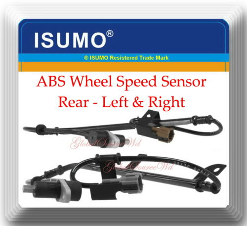 ABS Wheel Speed Sensor Rear Left /& Right For Infiniti I30  Maxima 1997-1999