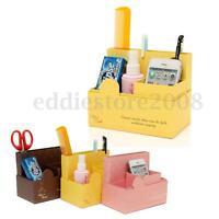 1pcs DIY Paper Board Storage Box Stationery Makeup Cosmetic Desk Organizer Case