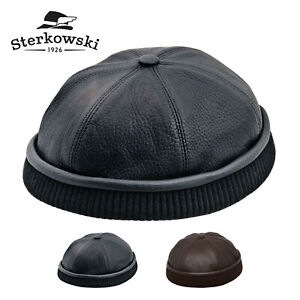sterkowski leon leather beanie cap lumberjack fisherman mariner navy watch ebay details about sterkowski leon leather beanie cap lumberjack fisherman mariner navy watch