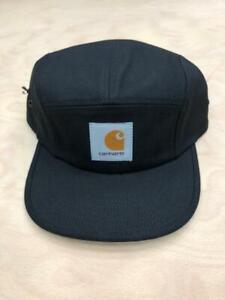 Carhartt-Wip-Backley-Cap-5-Panel-Watch-Hat-Black-Logo-Supreme-Streetwear