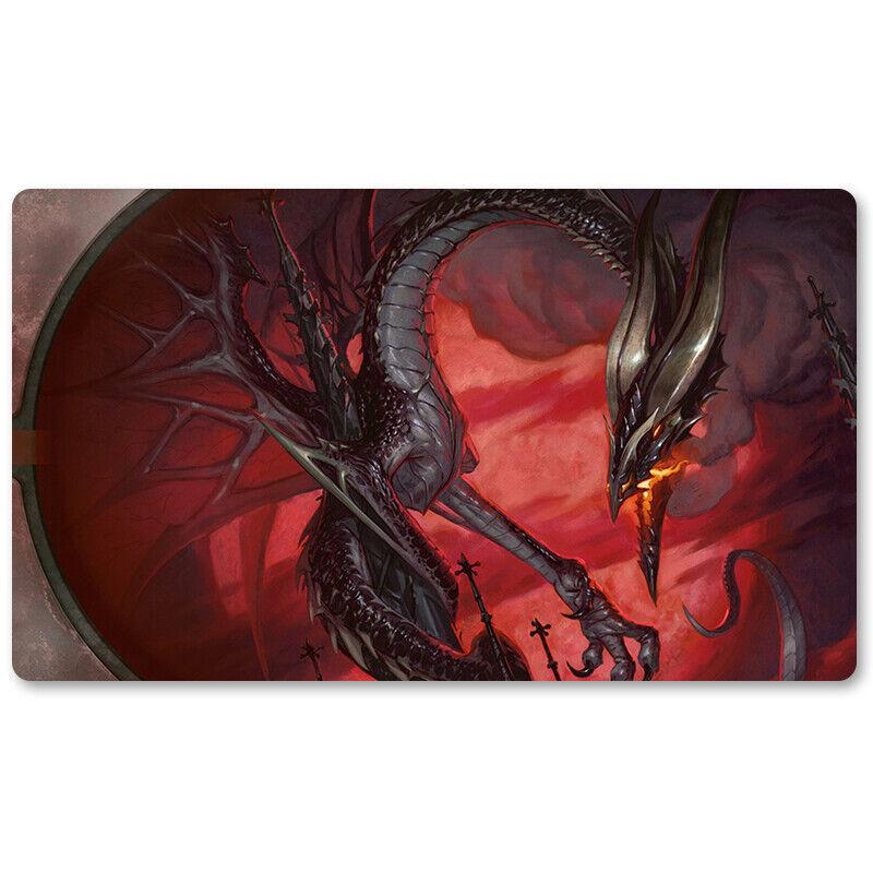 Balefire Dragon - Board Game MTG Playmat Games Mousepad
