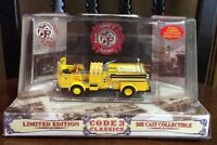 Code 3 1/64 Classics Los Angeles Fire Dept Lafd Crown Pumper 80- 12953 -