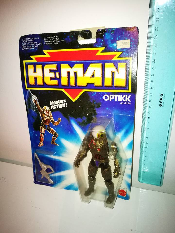 OPTIKK He-uomo nuovo Adventures MOC  RARE Version OVP Masters  Of the Universe  confortevole