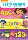 Let's Learn ABCs Colors 123s Region 1 DVD