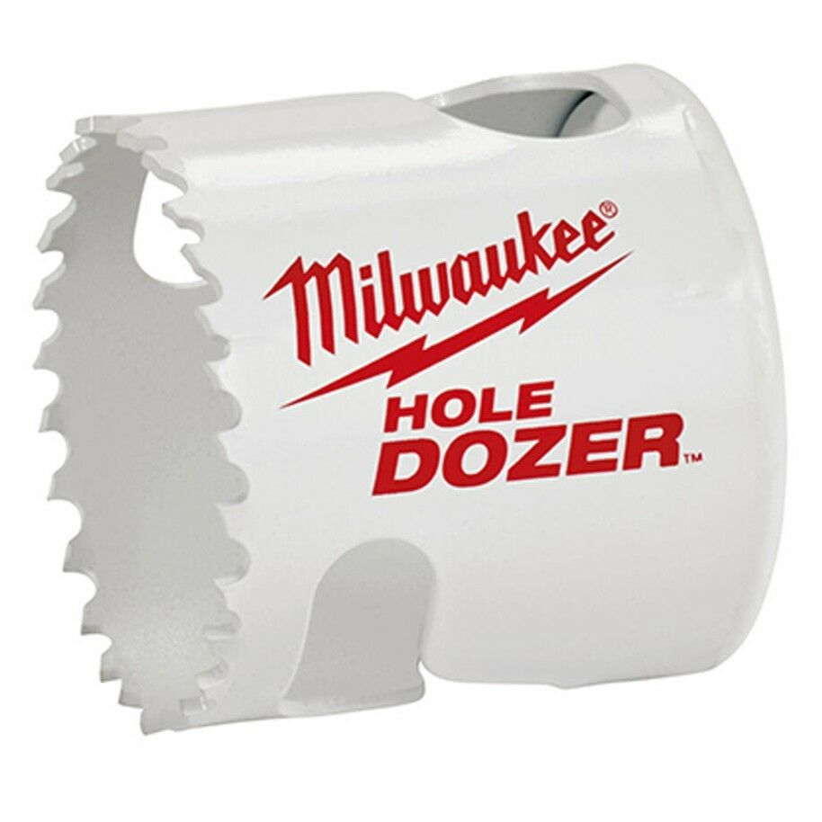 Milwaukee HOLEDOZER BI-METAL COBALT HOLESAW Rip Guard- 37mm, 38mm, 40mm Or 43mm
