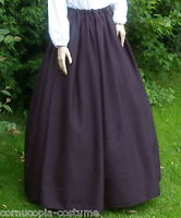 Ladies Victorian / Edwardian costume SKIRT gentry / ball gown fancy dress (pan)