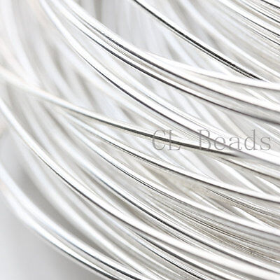 ONE Foot Half Hard Sterling Silver Round Wire-16 Gauge (1.29mm)
