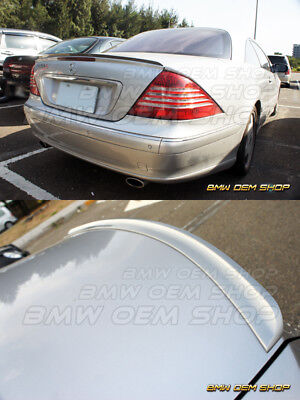 00-06 UNPAINTED MERCEDES BENZ CL W215 X TYPE TRUNK BOOT SPOILER WING