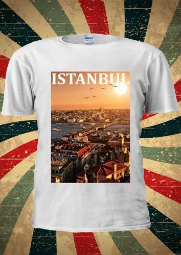 Istanbul Dream City Turkey Turkish Tumblr Fashion T Shirt Men Women Unisex 1005