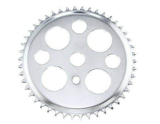 BICYCLE CHAINRING  LUCKY 7 36t 1//2 X 1//8 Black LOWRIDER BIKE