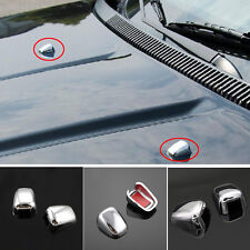 Auto Scheiben Jeep Grand Cherokee ABS Waschdüse Düse Abdeckung Chrome Spritzdüse