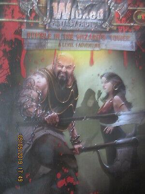 Apprensivo D&d 3e 3.5e D20 Rumble Nelle Procedure Guidate Torre Wicked Ff Rpg In Buonissima Condizione Dungeon Dragon-mostra Il Titolo Originale Irrestringibile