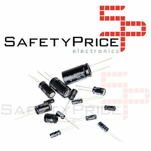 6x-Condensador-electrolitico-2200uF-25V-105-C-13-21mm-ELECTROLYTIC-CAPACITOR