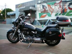 Tsukayu-Batwing-6X9-Fairing-For-Yamaha-V-Star-Classic-Silverado-Black